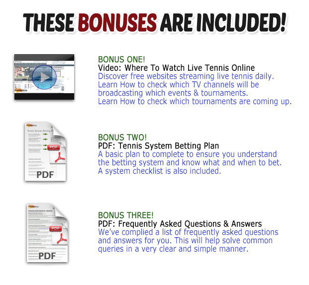 tennis system bonus